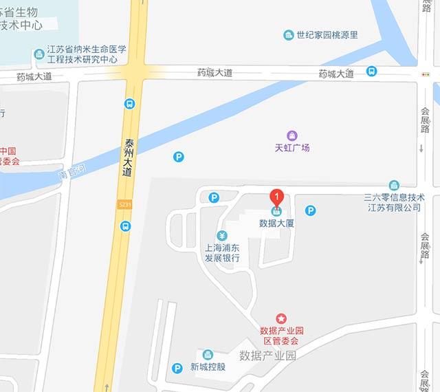 泰州市中国医药城数据大厦A座